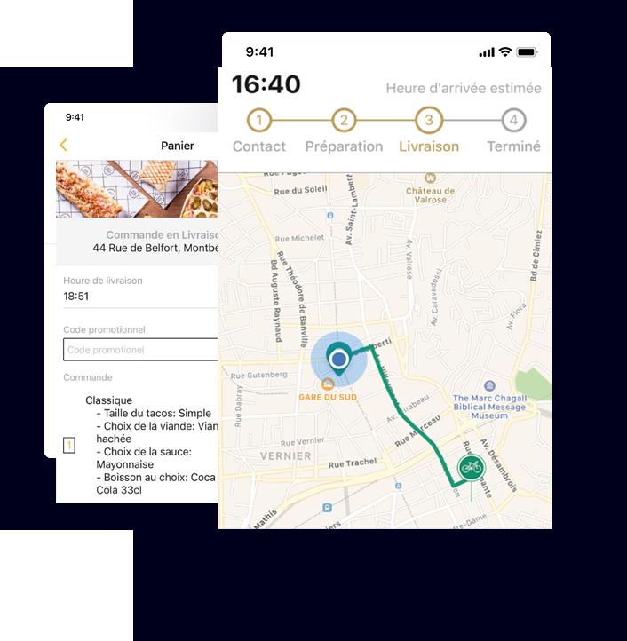 Grâce à l'App mobile Réinventez votre marketing